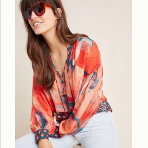 Anthropologie Siena Pleasant Blouse - BRAND NEW!